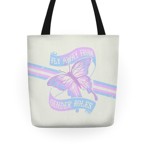 Fly Away From Gender Roles Tote