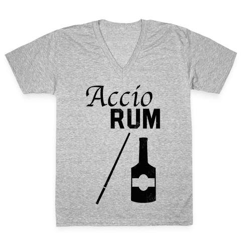 Accio RUM V-Neck Tee Shirt