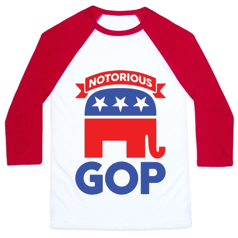 Notorious GOP Baseball Tee