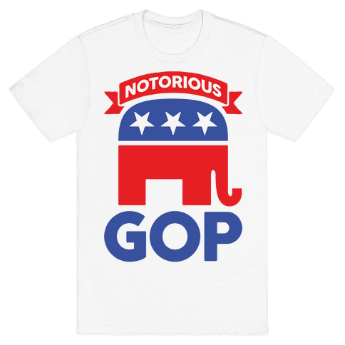 Notorious GOP Mens T-Shirt