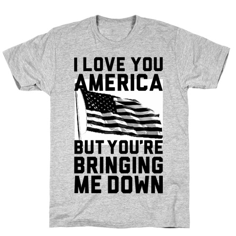 I Love You America T-Shirt
