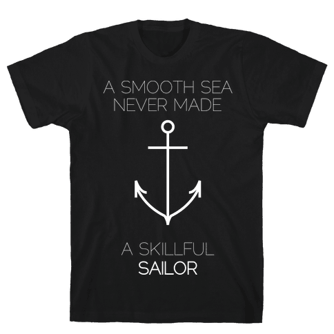 Smooth Sea Mens T-Shirt