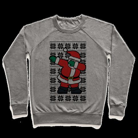 Dabbing Santa Pullover