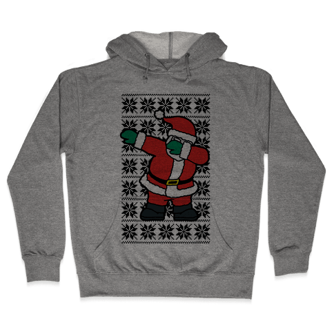 Dabbing Santa Hooded Sweatshirt