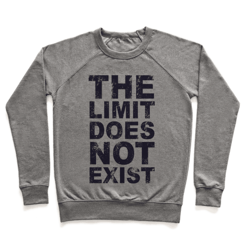 The Limit Does Not Exist (Tank) Pullover