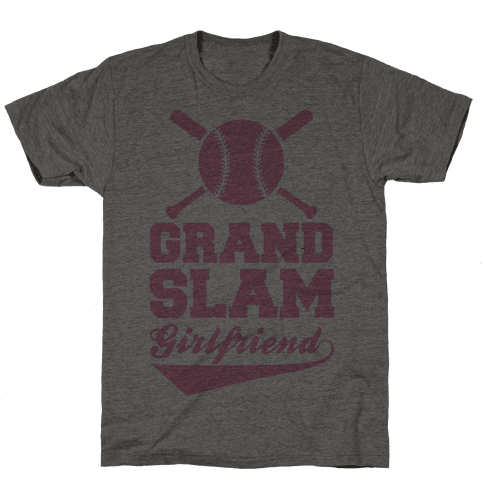 Grand Slam Girlfriend Mens T-Shirt
