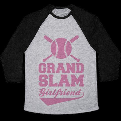 Grand Slam Girlfriend Baseball Tee