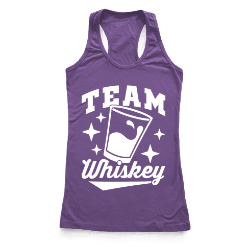 Team Whiskey Racerback Tank Top