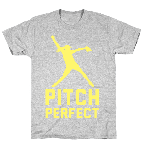 Softball Pitch Perfect Mens T-Shirt