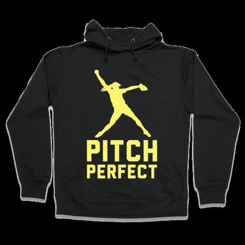 Softball Pitch Perfect Hooded Sweatshirt