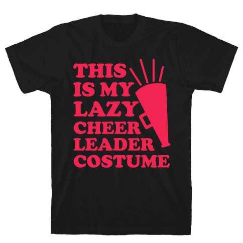 This is My Lazy Cheerleader Costume Mens T-Shirt