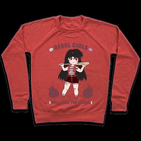 Rebel Girls Will Save The World Mars Parody Pullover