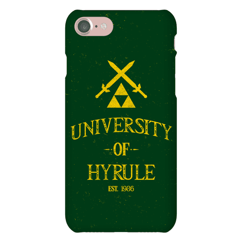 University Of Hyrule Phone Case
