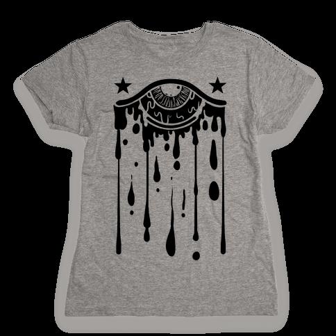 Eye Drip Womens T-Shirt