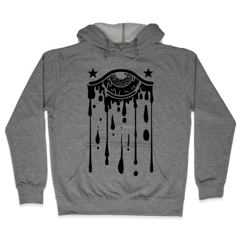 Eye Drip Hooded Sweatshirt
