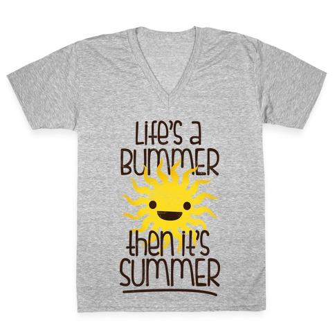 Summer V-Neck Tee Shirt