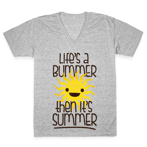 Summer V-Neck Tee Shirt