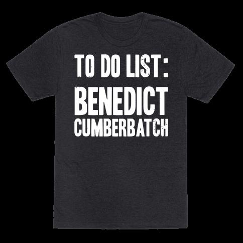 To Do List Benedict