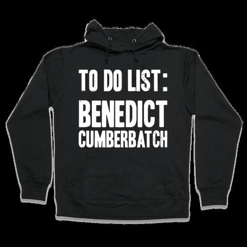 To Do List Benedict Hooded Sweatshirt