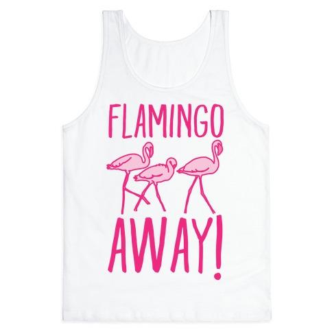 Flamingo Away Tank Top