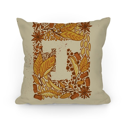 The Letter Tea Pillow