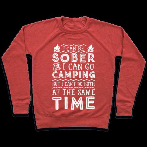 Sober Camping Pullover