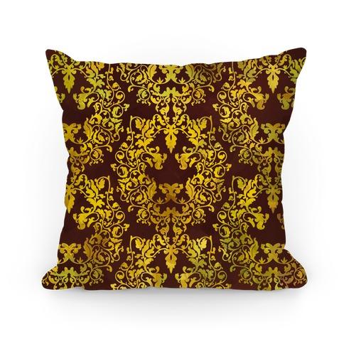 Floral Lion Pillow