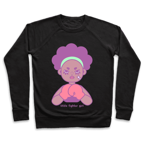 Little Fighter Girl Pullover