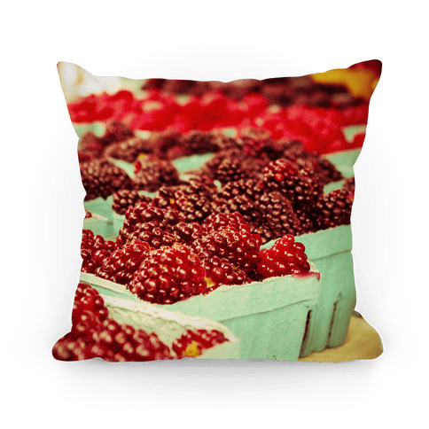 Raspberry Pillow Pillow