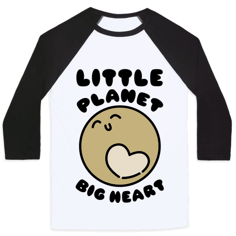 Little Planet Big Heart Baseball Tee