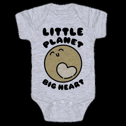 Little Planet Big Heart Baby Onesy