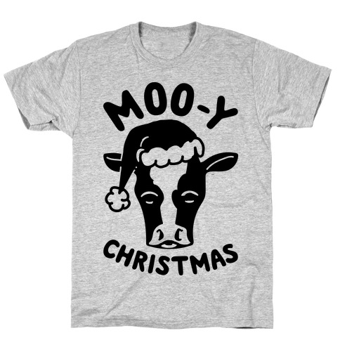 Moo-y Christmas T-Shirt