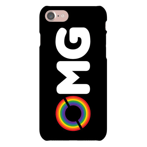 OMG Rainbow Phone Case