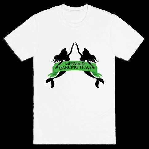 Mermaid Dancing Team Mens T-Shirt
