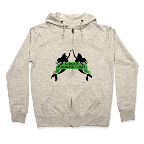 Mermaid Dancing Team Zip Hoodie