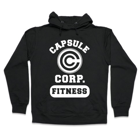 Capsule Corp. Fitness Hooded Sweatshirt