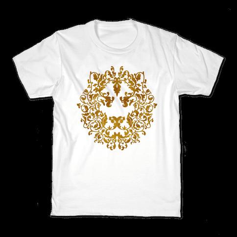 Floral Lion Kids T-Shirt