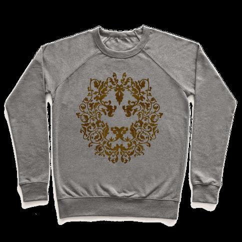 Floral Lion Pullover
