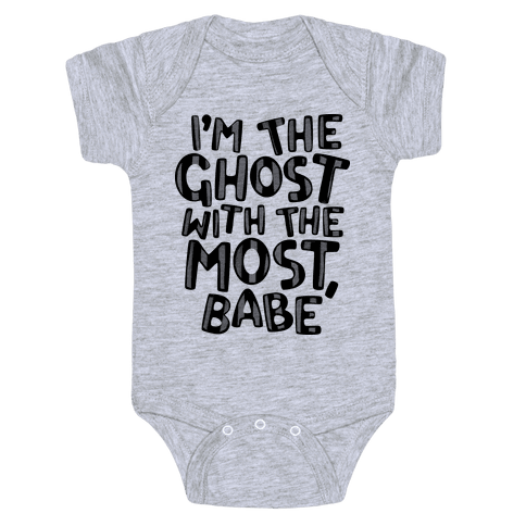 I'm The Ghost With The Most, Babe Baby Onesy