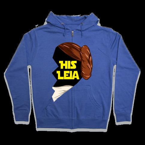 His Leia Zip Hoodie