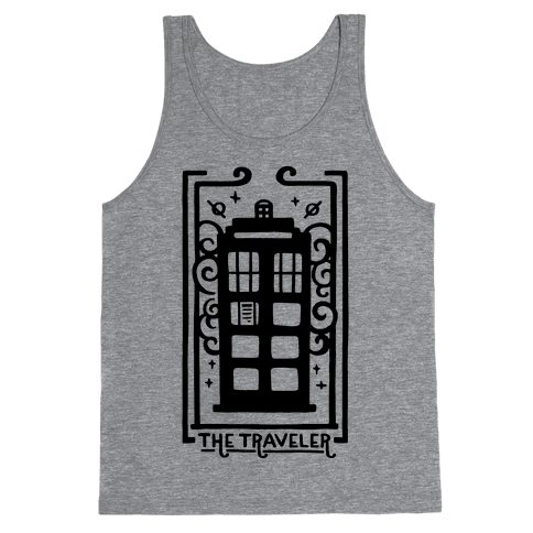 Time Traveler Tarot Tank Top
