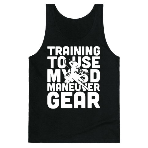 Training To use My 3D Maneuver Gear Tank Top