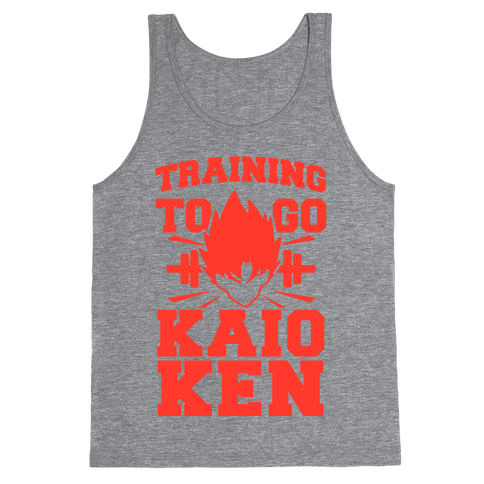 Training to Go Kaio-Ken Tank Top