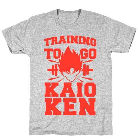 Training to Go Kaio-Ken Mens T-Shirt