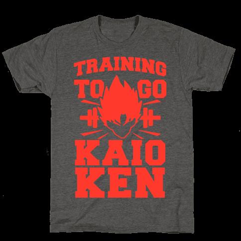 Training to Go Kaio-Ken