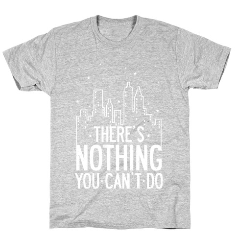 NYC - There's Nothing You Can't Do (Night) T-Shirt