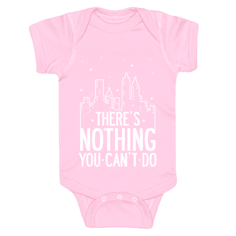 NYC - There's Nothing You Can't Do (Night) Baby Onesy