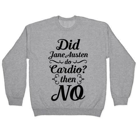 Jane Austen Cardio Pullover