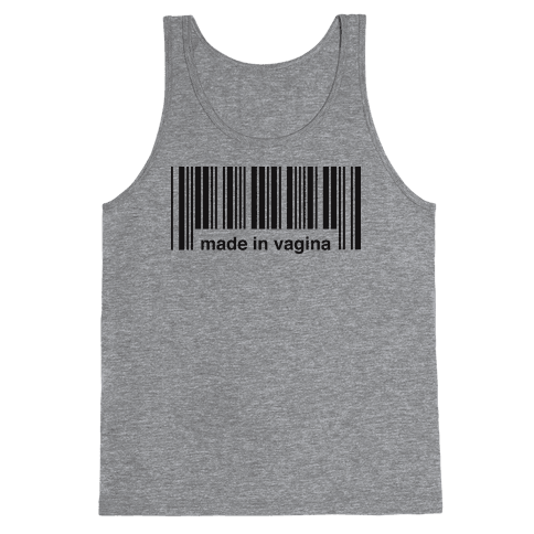 Made In Vagina (One Piece) Tank Top
