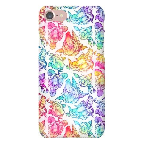 Floral Penis Rainbow phone case Phone Case